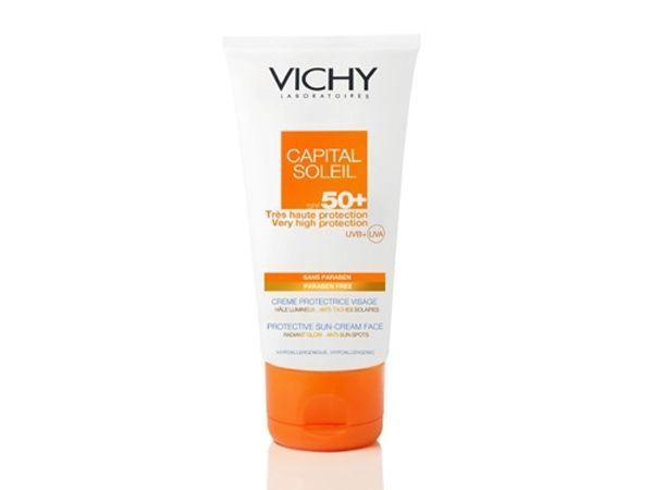 vichy capital soleil fresh cream face spf 50 50ml. Black Bedroom Furniture Sets. Home Design Ideas